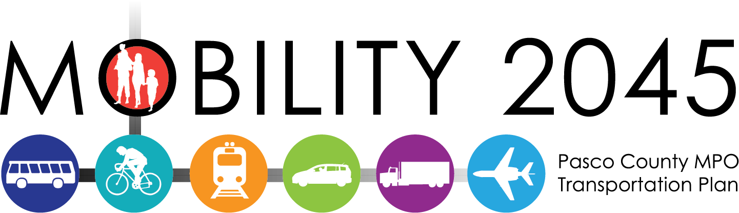 Website Logo - Pasco County Mobility 2045 LRTP
